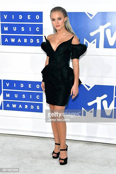 Zara Larsson attends the 2016 MTV Video Music Awards at Madison Square Garden on August 28 2016 in New York City