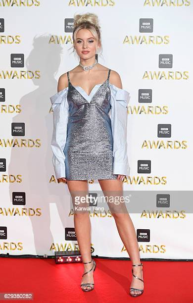 Zara Larsson attends the BBC Music Awards at ExCel on December 12 2016 in London England
