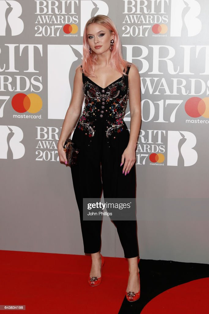zara-larsson-attends-the-brit-awards-2017-at-the-o2-arena-on-february-picture-id643834198