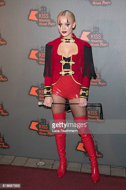 Zara Larsson attends the Kiss FM Haunted House Party at SSE Arena on October 27 2016 in London England