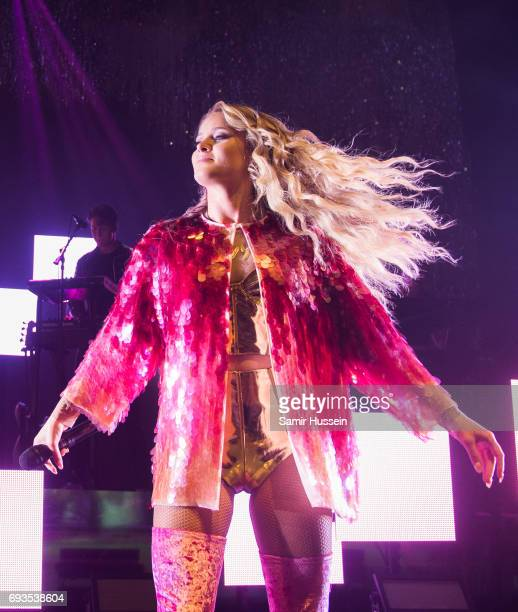 Zara Larsson performs at O2 Shepherd's Bush Empire on June 7 2017 in London England