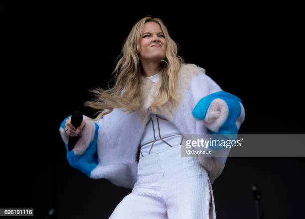 Zara Larsson performs at The Parklife Festival 2017 at Heaton Park on June 11 2017 in Manchester England