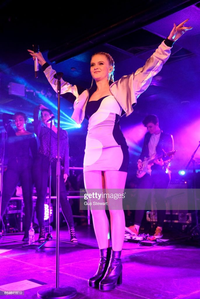 Zara Larsson performs on stage, on her CD release date, at The Hippodrome on March 17, 2017, in Kingston upon Thames, England.