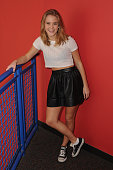 Zara Larsson poses for a portrait at radio station Y100 on January 27 2015 in Miami Florida