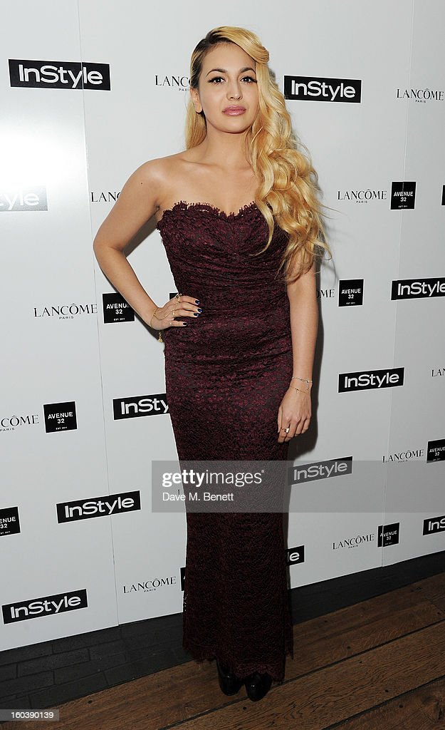 Zara Martin arrives at the InStyle Best Of British Talent party in association with Lancome and Avenue 32 at Shoreditch House on January 30, 2013 in London, England.