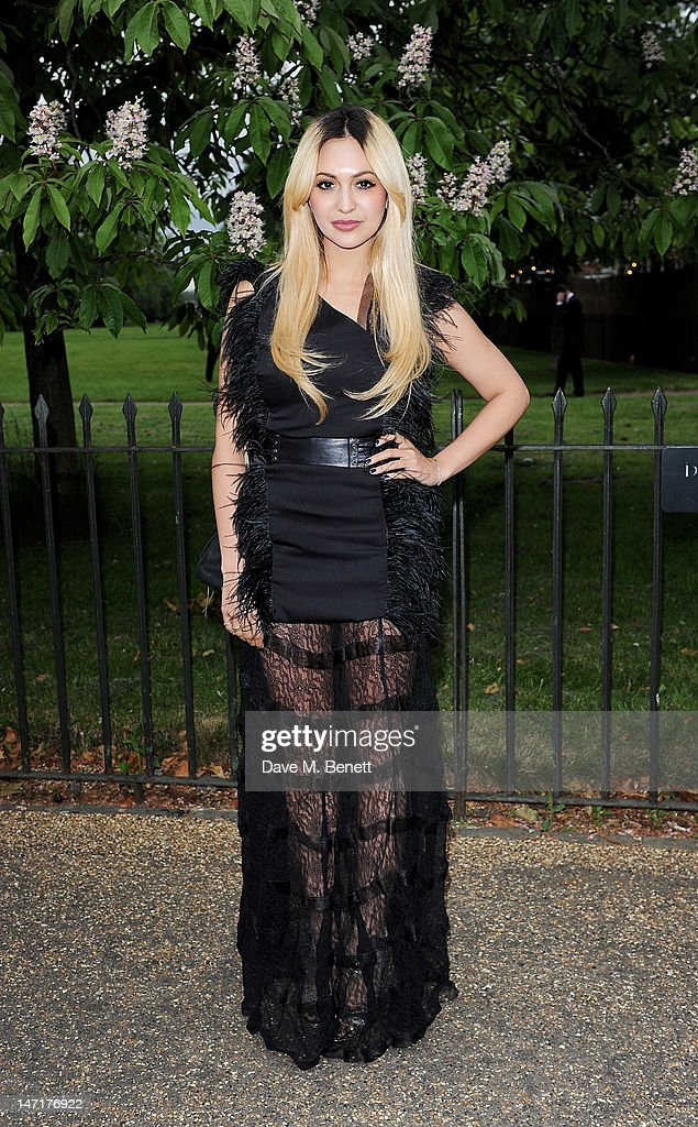Zara Martin arrives at the Serpentine Gallery Summer Party sponsored by Leon Max at The Serpentine Gallery on June 26, 2012 in London, England.