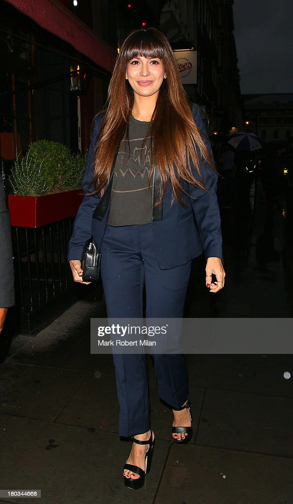 <a gi-track='captionPersonalityLinkClicked' href=/galleries/search?phrase=Zara+Martin&family=editorial&specificpeople=6550505 ng-click='$event.stopPropagation()'>Zara Martin</a> attending the Sandro flagship store launch party on September 11, 2013 in London, England.
