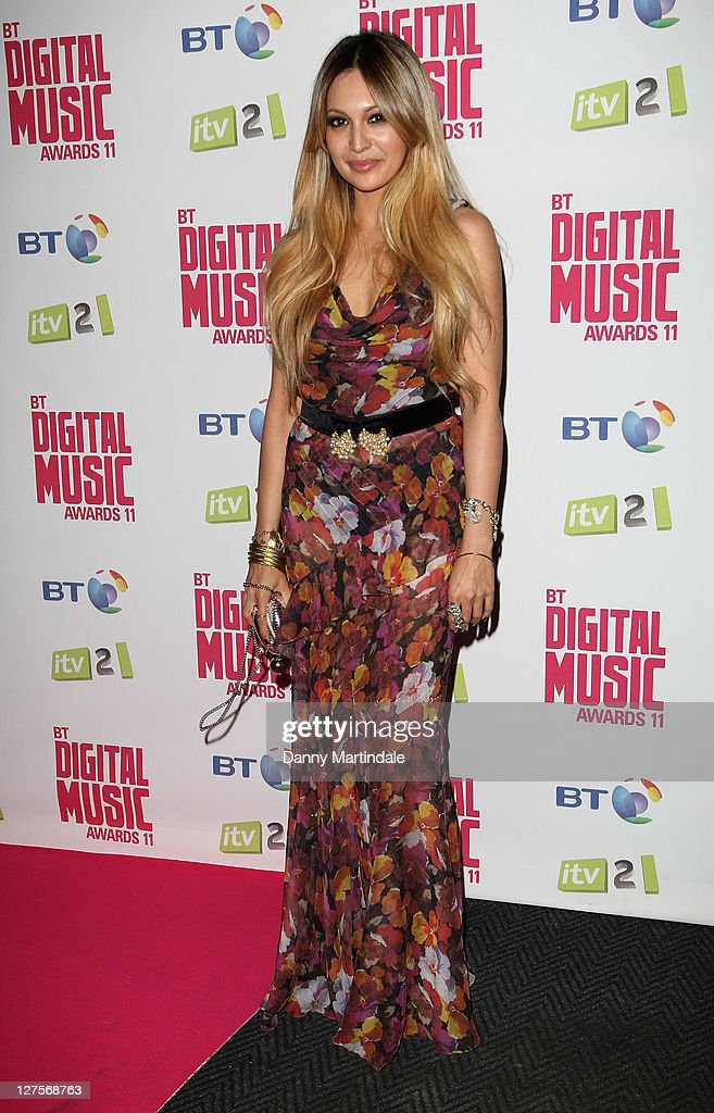 Zara Martin attends BT Digital Music Awards at The Roundhouse on September 29, 2011 in London, England.