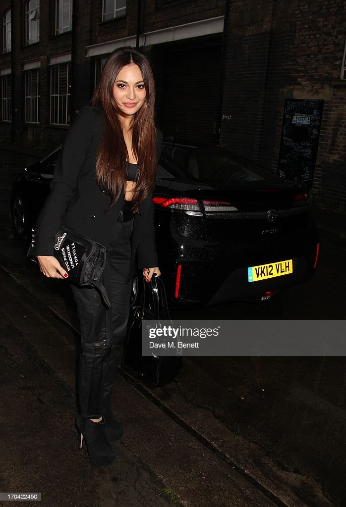 <a gi-track='captionPersonalityLinkClicked' href=/galleries/search?phrase=Zara+Martin&family=editorial&specificpeople=6550505 ng-click='$event.stopPropagation()'>Zara Martin</a> attends Club DKNY in celebration of #DKNYARTWORKS hosted by Cara Delevingne with special performances by Rita Ora and Iggy Azalea at The Fire Station on June 12, 2013 in London, England.