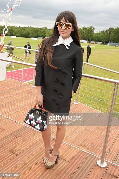Zara Martin attends day two of the Audi Polo Challenge at Coworth Park on May 31 2015 in London England
