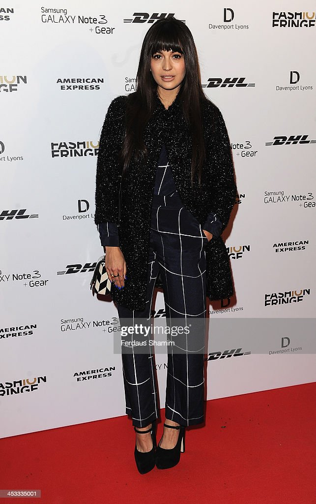 <a gi-track='captionPersonalityLinkClicked' href=/galleries/search?phrase=Zara+Martin&family=editorial&specificpeople=6550505 ng-click='$event.stopPropagation()'>Zara Martin</a> attends the Fashion Fringe 10th anniversary party at the London Film Museum on December 3, 2013 in London, England.