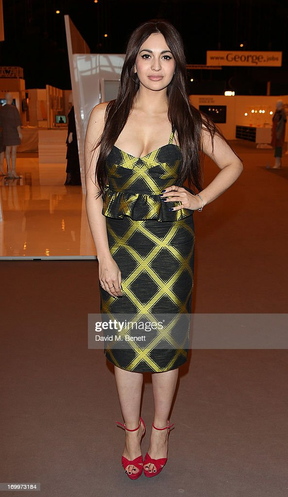 Zara Martin attends the gala awards show for Graduate Fashion Week 2013 at Earls Court 2 on June 5, 2013 in London, England.