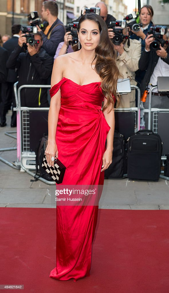 Zara Martin attends the GQ Men of the Year awards at The Royal Opera House on September 2, 2014 in London, England.