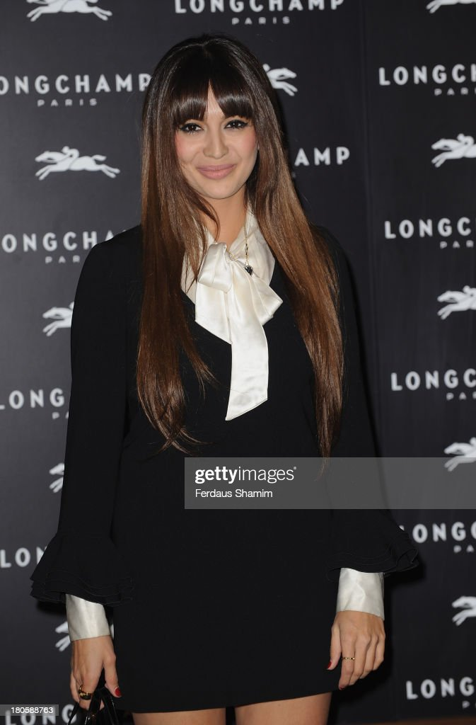 <a gi-track='captionPersonalityLinkClicked' href=/galleries/search?phrase=Zara+Martin&family=editorial&specificpeople=6550505 ng-click='$event.stopPropagation()'>Zara Martin</a> attends the grand opening party of Longchamp Regent Street at Longchamp on September 14, 2013 in London, England.