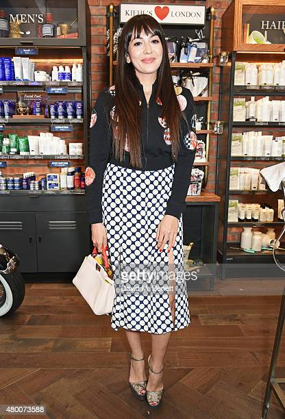 Zara Martin attends the Kiehl's Pioneers By Nature Party at the Kiehl's Regent Street Store on July 9 2015 in London England