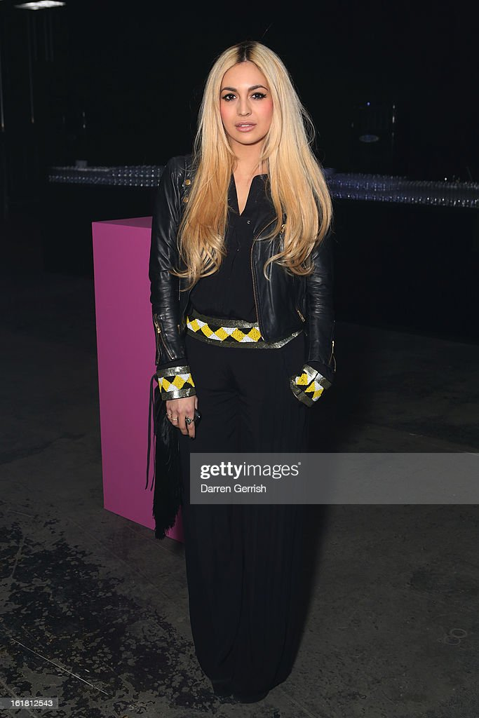 Zara Martin attends the Rihanna for River Island show during London Fashion Week Fall/Winter 2013/14 at The Old Sorting Office on February 16, 2013 in London, England.