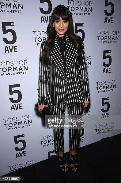 Zara Martin attends the Topshop Topman New York City flagship opening dinner at Grand Central Terminal on November 4 2014 in New York City