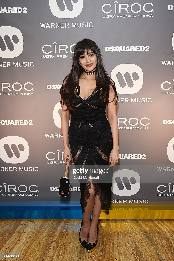 Zara Martin attends the Warner Music Group & Ciroc Vodka Brit Awards after party at Freemasons Hall on February 24, 2016 in London, England.