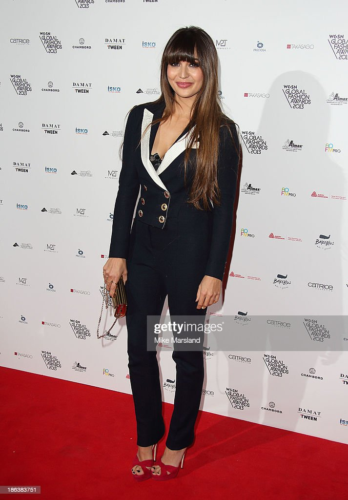Zara Martin attends the WGSN Global Fahsion awards at Victoria & Albert Museum on October 30, 2013 in London, England.