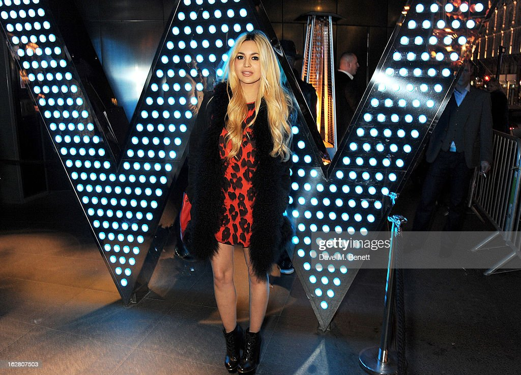 Zara Martin parties in Wyld at W London Leicester Square after the NME Awards whilst drinking 'CIROC 'n' Roll' cocktails on February 27, 2013 in London, United Kingdom.