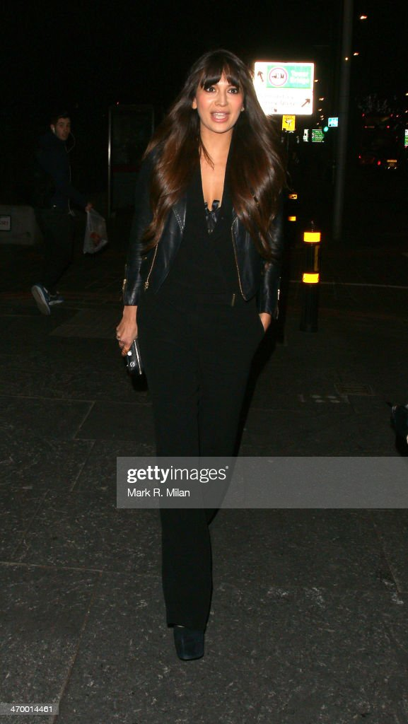 Zara Martin sighted at the Storm model agency party during London Fashion Week on February 17, 2014 in London, England.