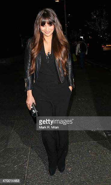 Zara Martin sighted at the Storm model agency party during London Fashion Week on February 17 2014 in London England