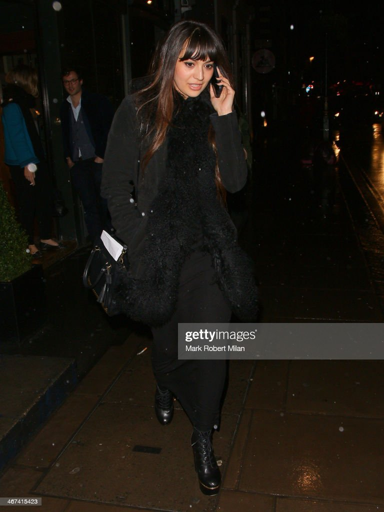 <a gi-track='captionPersonalityLinkClicked' href=/galleries/search?phrase=Zara+Martin&family=editorial&specificpeople=6550505 ng-click='$event.stopPropagation()'>Zara Martin</a> sighting at the Groucho club on February 6, 2014 in London, England.