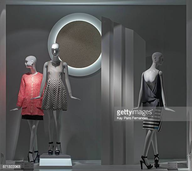 Zara Paris window display 2015 as Part of the World Fashion Window Displays on March 20 2015 in Paris France