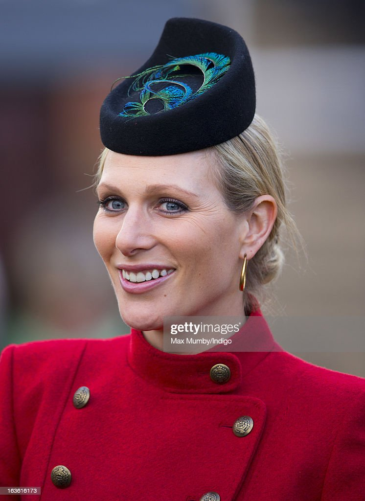 Zara Phillips attends Day 2 of The Cheltenham Festival at Cheltenham Racecourse on March 13, 2013 in London, England.