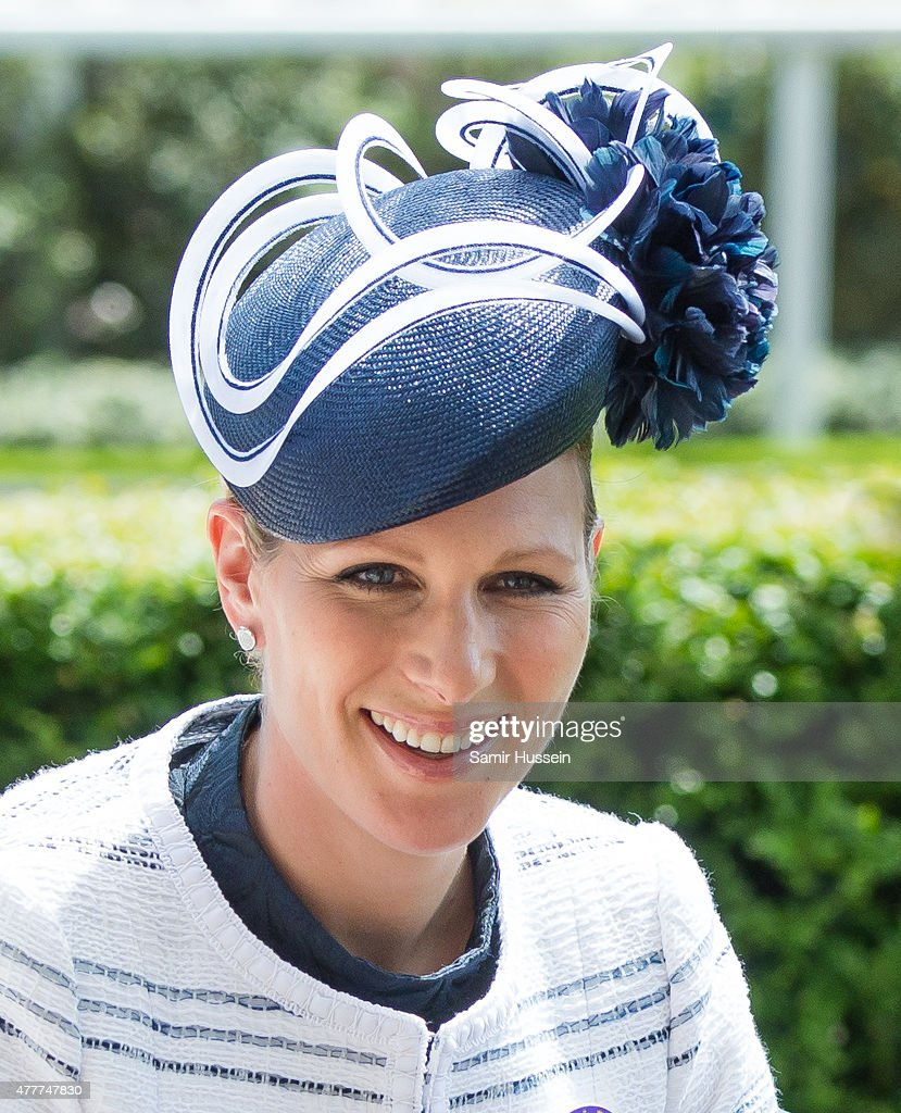 Zara Phillips attends day 4 of Royal Ascot at Ascot Racecourse on June 19, 2015 in Ascot, England.