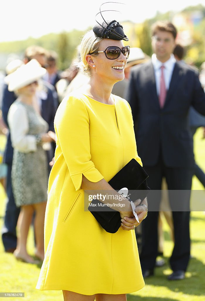Zara Phillips attends Ladies Day of Glorious Goodwood at Goodwood Racecourse on August 1, 2013 in Chichester, England.