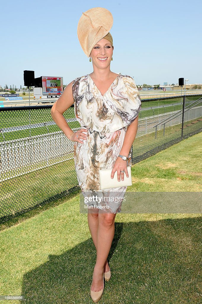 <a gi-track='captionPersonalityLinkClicked' href=/galleries/search?phrase=Zara+Phillips&family=editorial&specificpeople=161323 ng-click='$event.stopPropagation()'>Zara Phillips</a> attends Magic Millions Raceday at Gold Coast Turf Club on January 12, 2013 on the Gold Coast, Australia.
