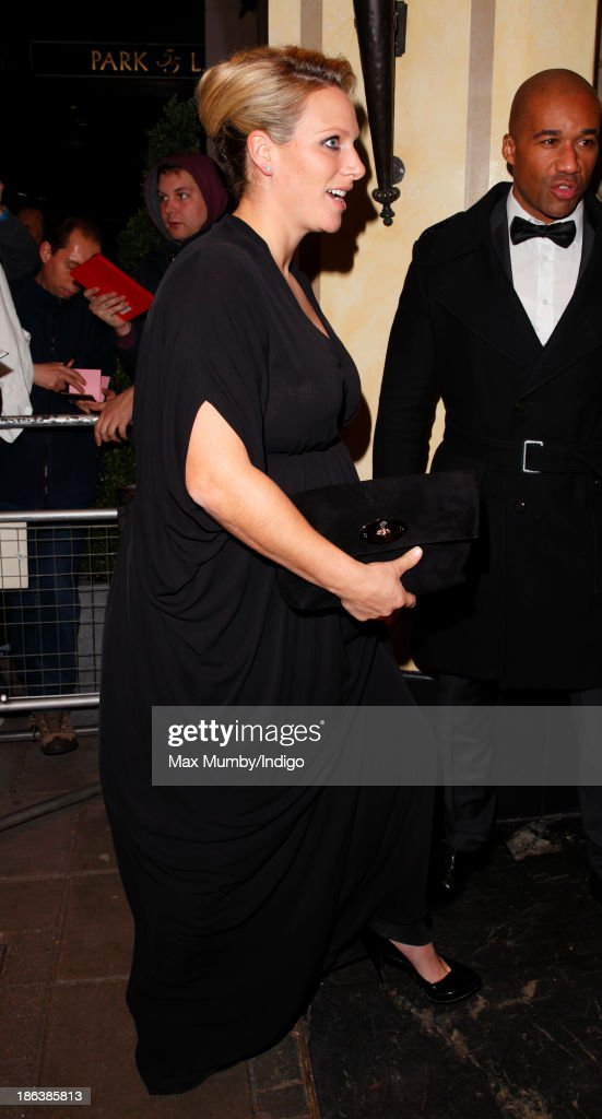 Zara Phillips attends the British Olympic Ball at The Dorchester on October 30, 2013 in London, England.