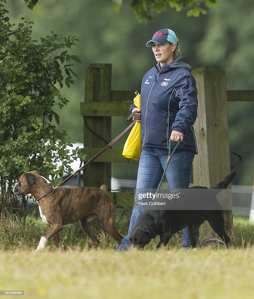 <a gi-track='captionPersonalityLinkClicked' href=/galleries/search?phrase=Zara+Phillips&family=editorial&specificpeople=161323 ng-click='$event.stopPropagation()'>Zara Phillips</a> attends the Gatcombe Horse Trials at Gatcombe Park on September 21, 2013 in Minchinhampton, England.
