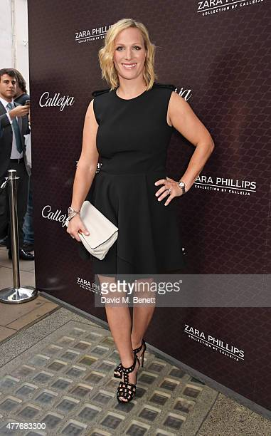 Zara Phillips attends the official launch of The Zara Phillips Collection by Calleija at the Royal Arcade on June 18 2015 in London England