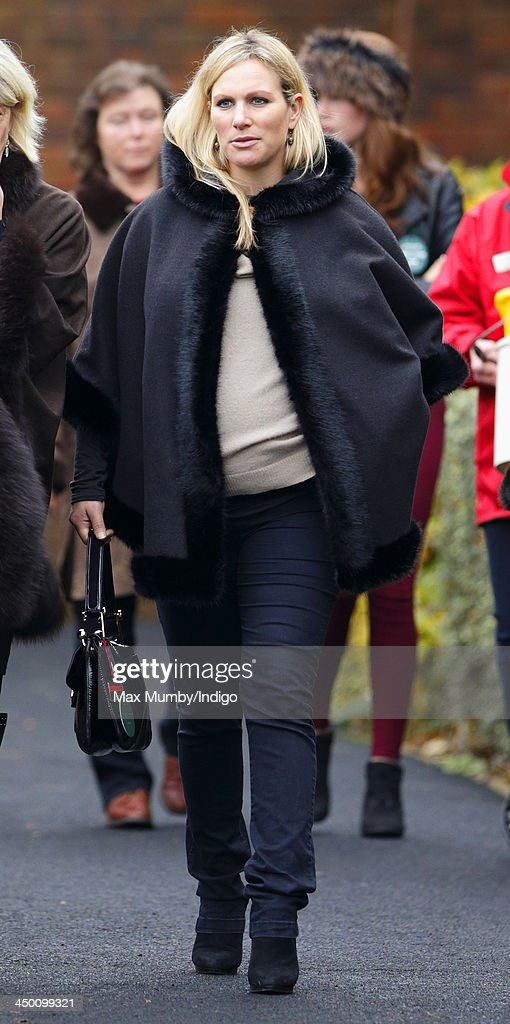 Zara Phillips attends the Paddy Power Gold Cup Day at Cheltenham Racecourse on November 16, 2013 in Cheltenham, England.