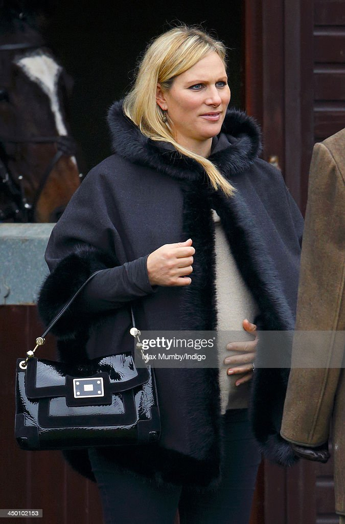 <a gi-track='captionPersonalityLinkClicked' href=/galleries/search?phrase=Zara+Phillips&family=editorial&specificpeople=161323 ng-click='$event.stopPropagation()'>Zara Phillips</a> attends the Paddy Power Gold Cup Day at Cheltenham Racecourse on November 16, 2013 in Cheltenham, England.