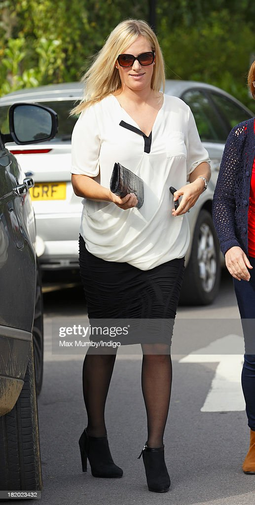<a gi-track='captionPersonalityLinkClicked' href=/galleries/search?phrase=Zara+Phillips&family=editorial&specificpeople=161323 ng-click='$event.stopPropagation()'>Zara Phillips</a> attends the refurbishment open day and 60th birthday celebrations at the Stroud Maternity Unit on September 27, 2013 in Stroud, England.