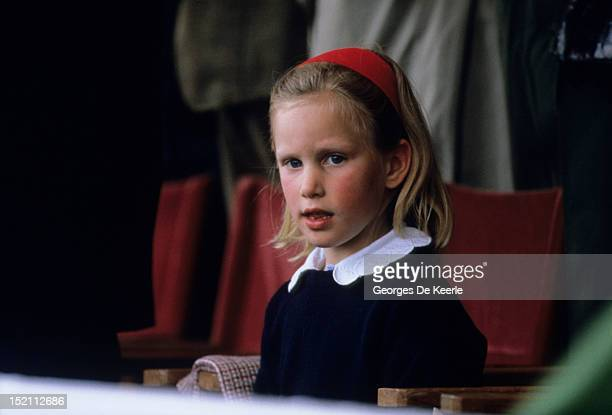 Zara Phillips attends the Royal Horse Show in Windsor on May 16 1987