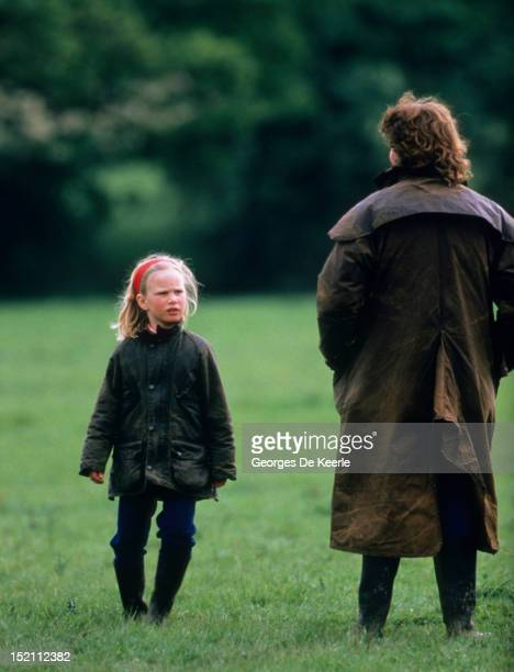 Zara Phillips attends the Windsor Horse Trial on May 23 1987
