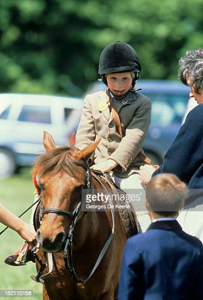 Zara Phillips attends the Windsor Horse Trial on May 29 1988