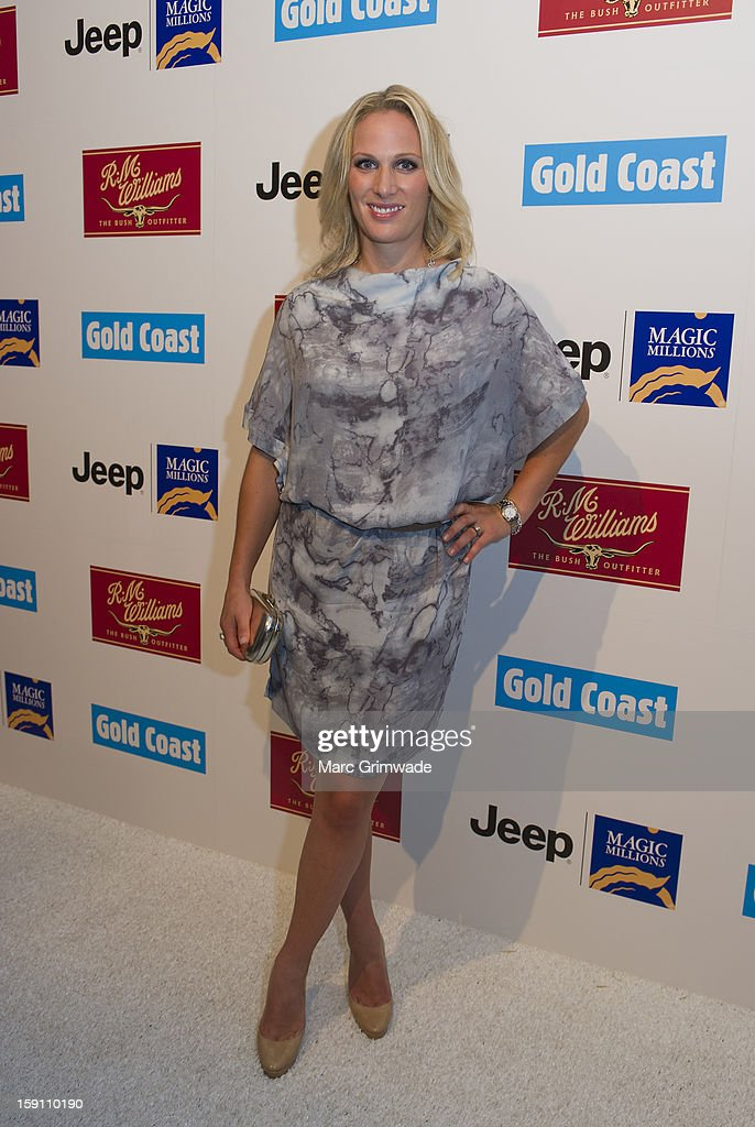 Zara Phillips during the Magic Millions Opening Night cocktail party at Surfers Paradise on January 8, 2013 in Surfers Paradise, Australia.