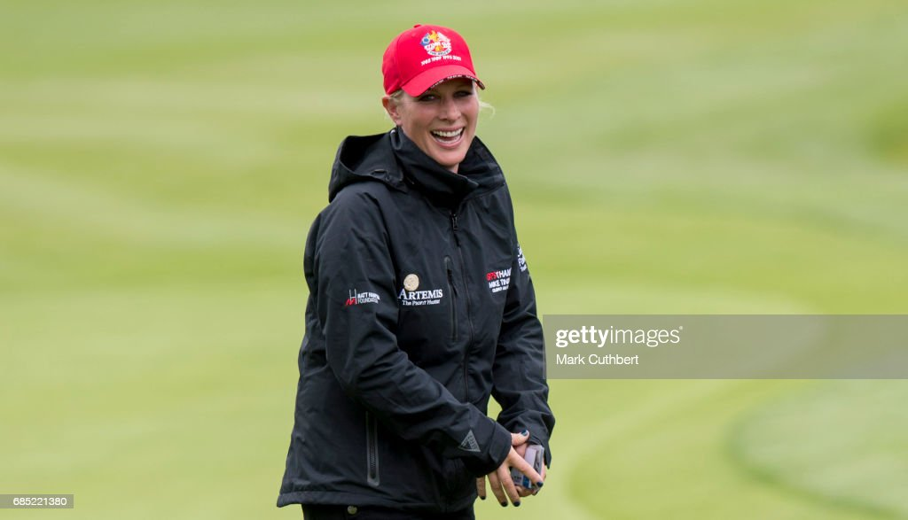 Zara Phillips during the Mike Tindall Celebrity Golf Classic at The Belfry on May 19, 2017 in Sutton Coldfield, England.