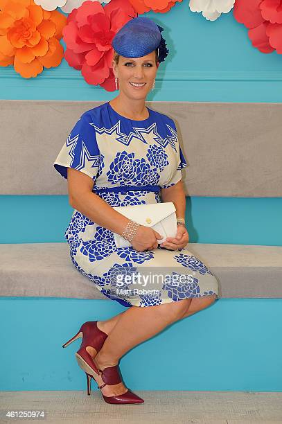 Zara Phillips poses during Magic Millions Race Day at Gold Coast Racecourse on January 10 2015 on the Gold Coast Australia