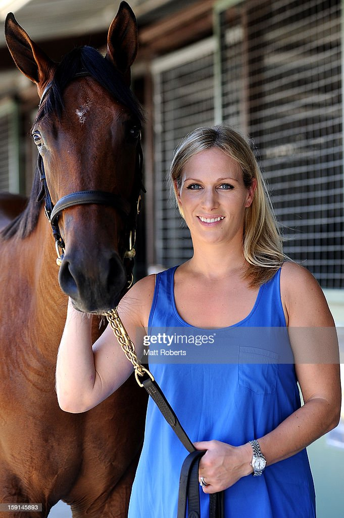 Zara Phillips poses for a photo at the Magic Millions Sales Complex on January 9, 2013 on the Gold Coast, Australia. Zara Phillips is the ambassador for the 2013 Magic Millions carnival.