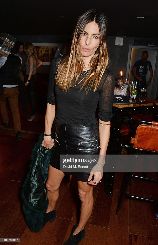 Zara Simon attends the launch of MODE in Notting Hill on April 4, 2014 in London, England.