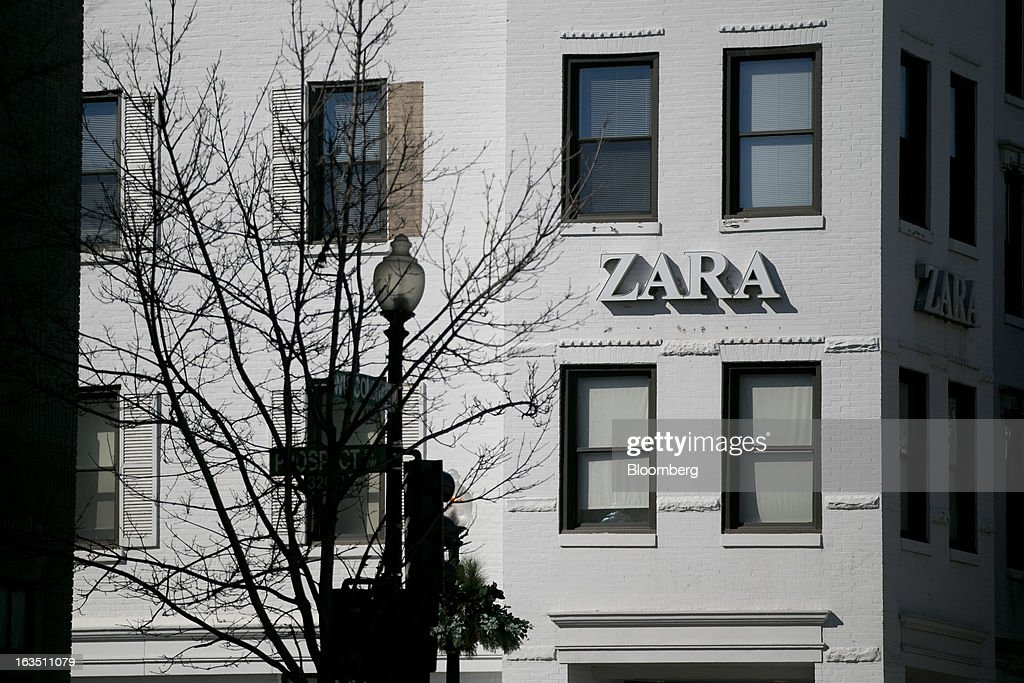 A Zara store, operated by Inditex SA, stands in the Georgetown neighborhood of Washington, D.C., U.S., on Saturday, March 9, 2013. The U.S. Census Bureau is expected to release advance retail sales data for February on March 13. Photographer: Andrew Harrer/Bloomberg via Getty Images