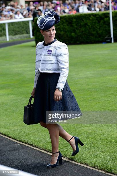 Zara Tindall attends Royal Ascot 2015 at Ascot racecourse on June 19 2015 in Ascot England