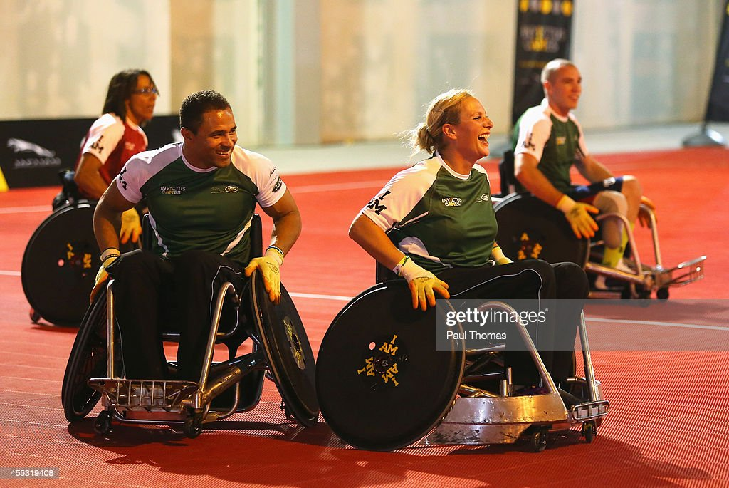 Invictus Games: Exhibition Wheelchair Rugby Training