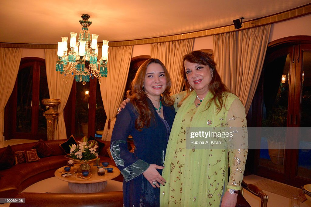 <a gi-track='captionPersonalityLinkClicked' href=/galleries/search?phrase=Zarine+Khan&family=editorial&specificpeople=6381777 ng-click='$event.stopPropagation()'>Zarine Khan</a> and her daughter-in-law, Malaika Khan celebrate Bakrid with their family and friends at Sanjay Plaza on September 25, 2015 in Mumbai, India.